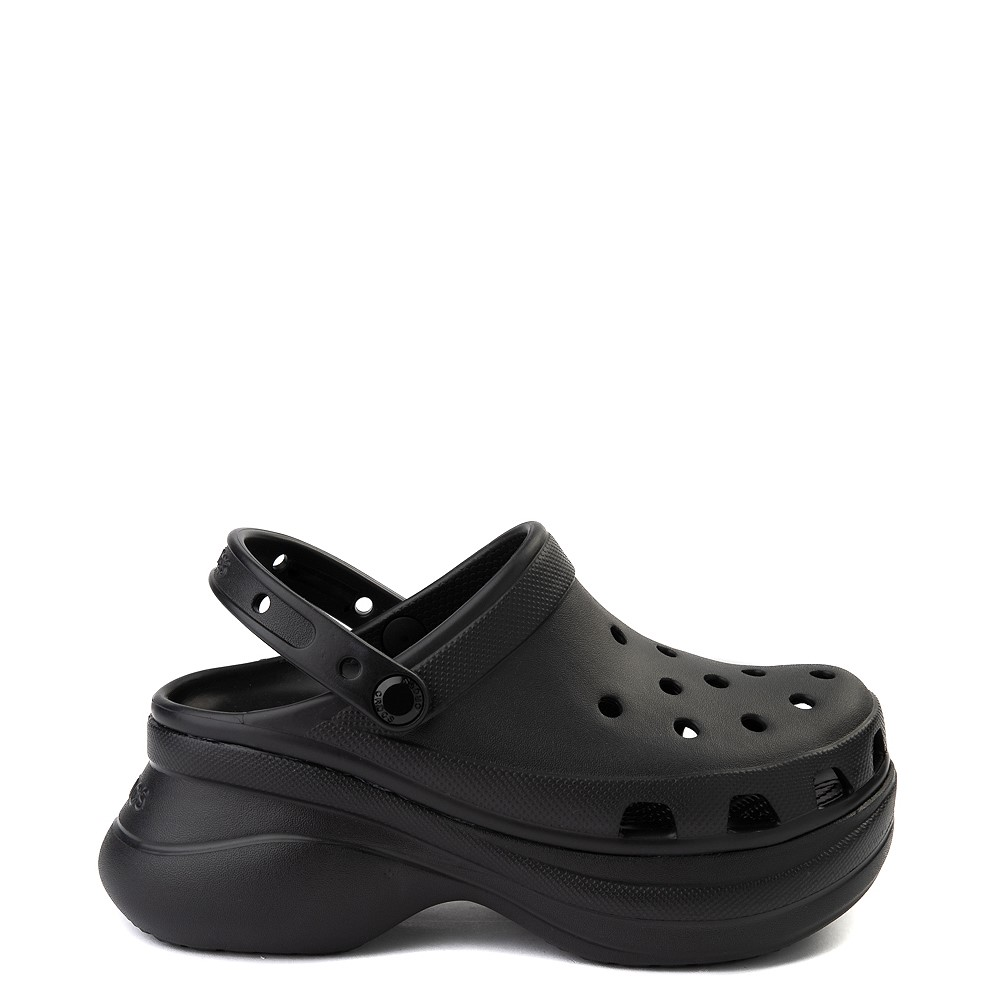 Womens Crocs Classic Bae Platform Clog - Black