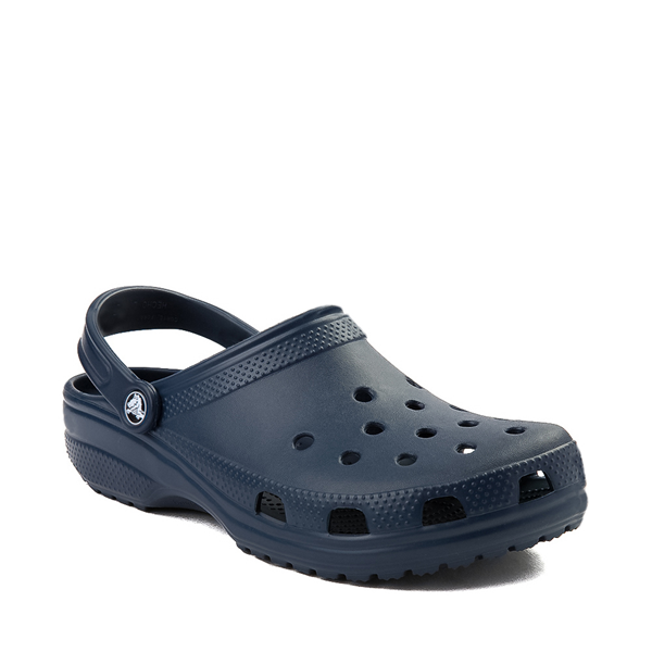 alternate view Crocs Classic Clog - NavyALT5