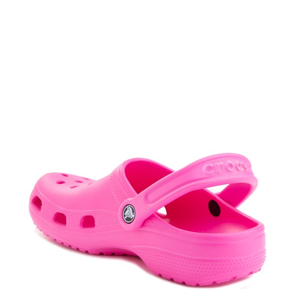 alternate view Crocs Classic Clog - Electric PinkALT1