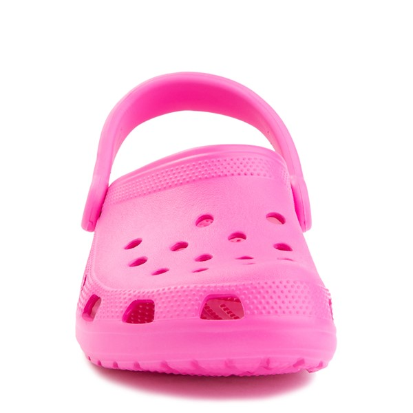 alternate view Crocs Classic Clog - Electric PinkALT4