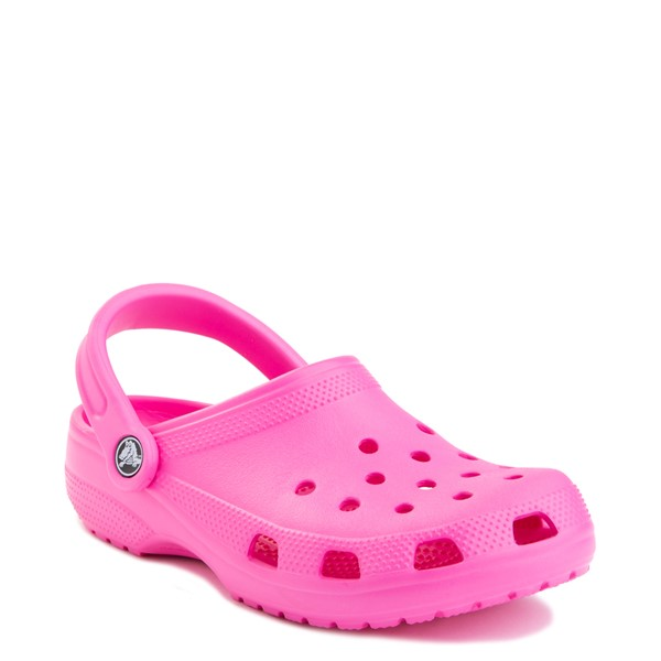 alternate view Crocs Classic Clog - Electric PinkALT5