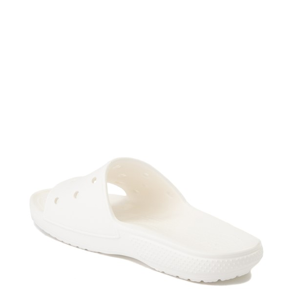 alternate view Crocs Classic Slide Sandal - WhiteALT1