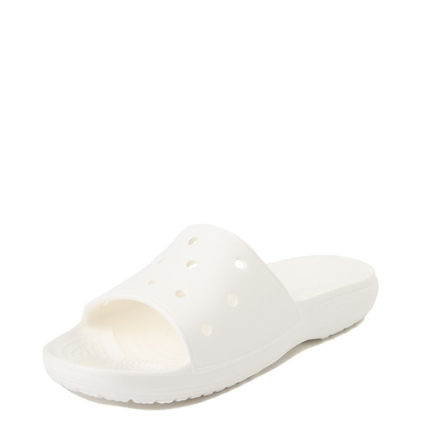 alternate view Crocs Classic Slide Sandal - WhiteALT2