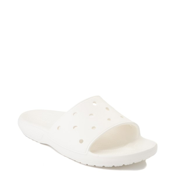 alternate view Crocs Classic Slide Sandal - WhiteALT5