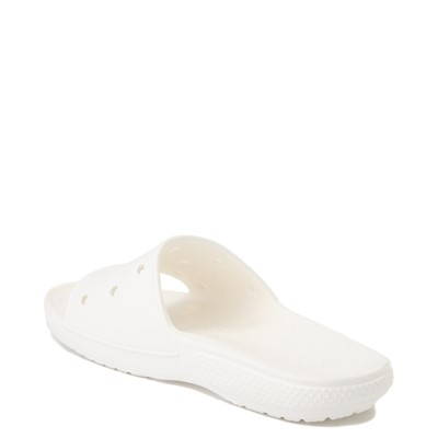 Alternate view of Crocs Classic Slide Sandal - White