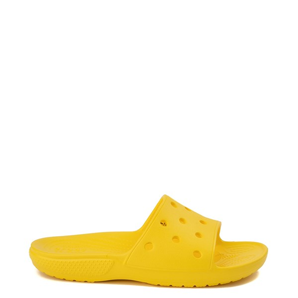 Main view of Crocs Classic Slide Sandal - Lemon