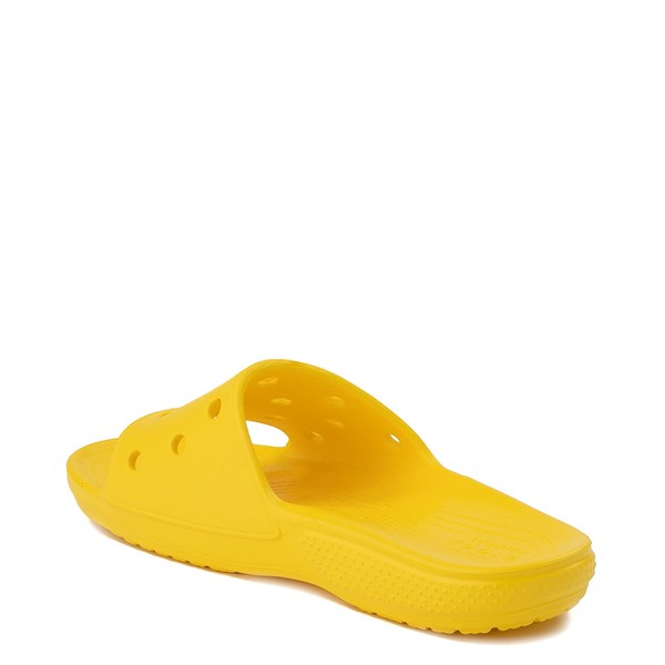 alternate view Crocs Classic Slide Sandal - LemonALT2