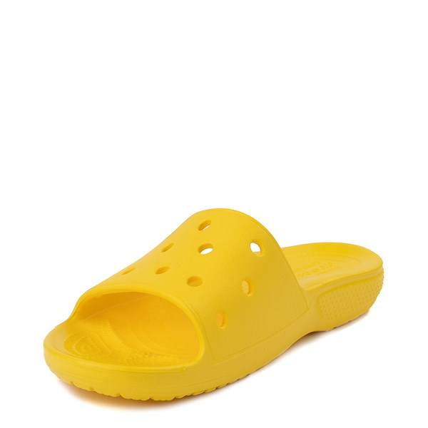 alternate view Crocs Classic Slide Sandal - LemonALT3