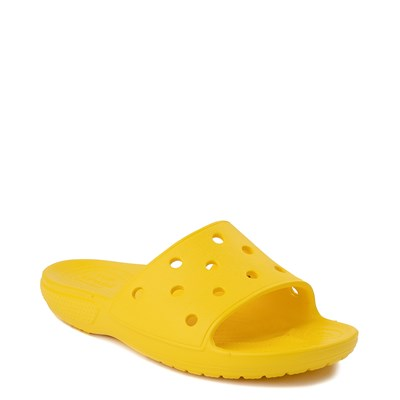 Alternate view of Crocs Classic Slide Sandal - Lemon