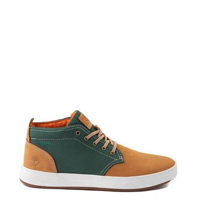 Main view of Mens Timberland Davis Square Chukka Boot - Wheat / Green