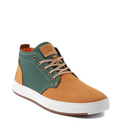 Alternate view of Mens Timberland Davis Square Chukka Boot - Wheat / Green