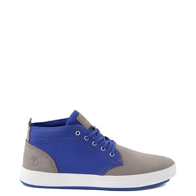 Main view of Mens Timberland Davis Square Chukka Boot - Gray / Blue