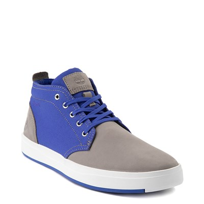 Alternate view of Mens Timberland Davis Square Chukka Boot - Gray / Blue