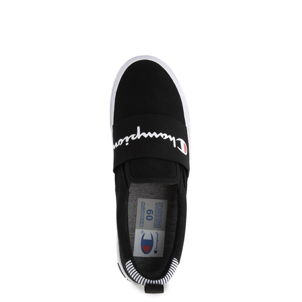 alternate view Mens Champion Rally Slip On Athletic Shoe - BlackALT2