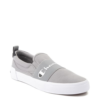Alternate view of Mens Champion Rally Slip On Athletic Shoe - Gray