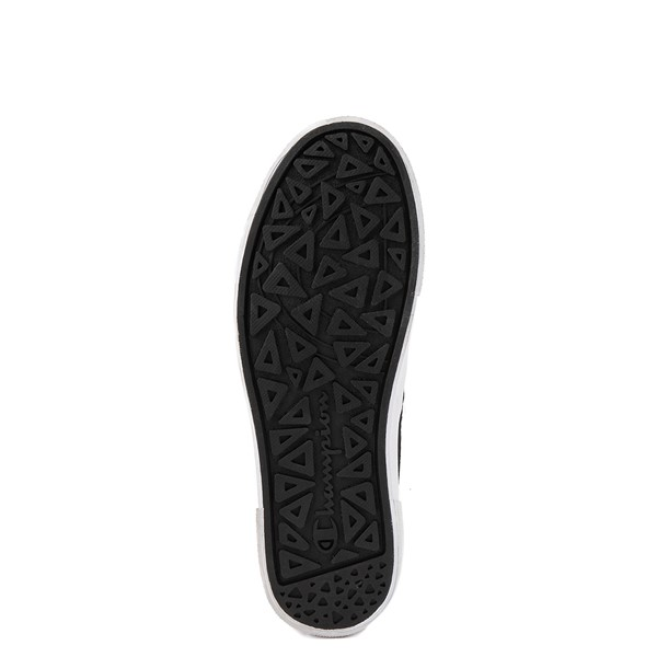alternate view Womens Champion Rally Slip On Athletic Shoe - Black / MultiALT3