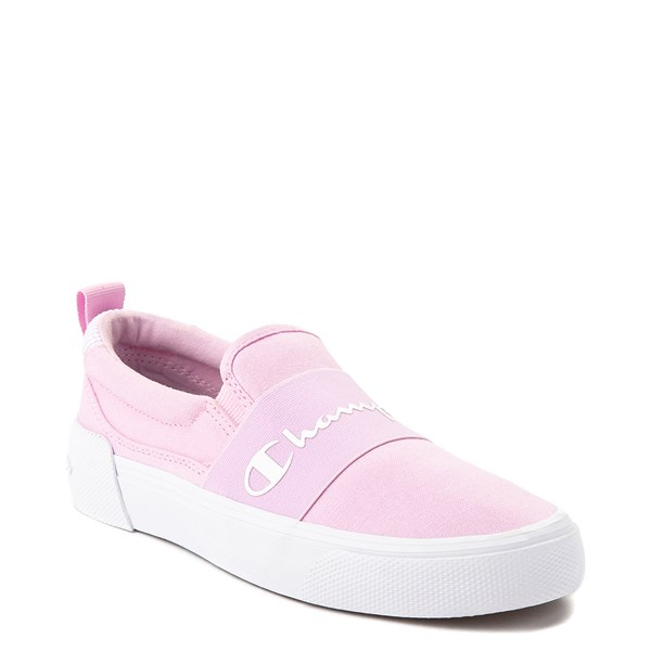 alternate view Womens Champion Rally Slip On Athletic Shoe - PinkALT1