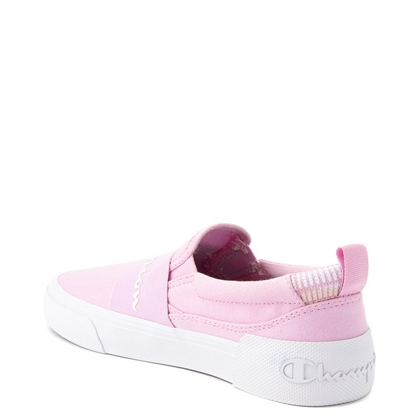alternate view Womens Champion Rally Slip On Athletic Shoe - PinkALT2