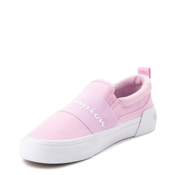 alternate view Womens Champion Rally Slip On Athletic Shoe - PinkALT3