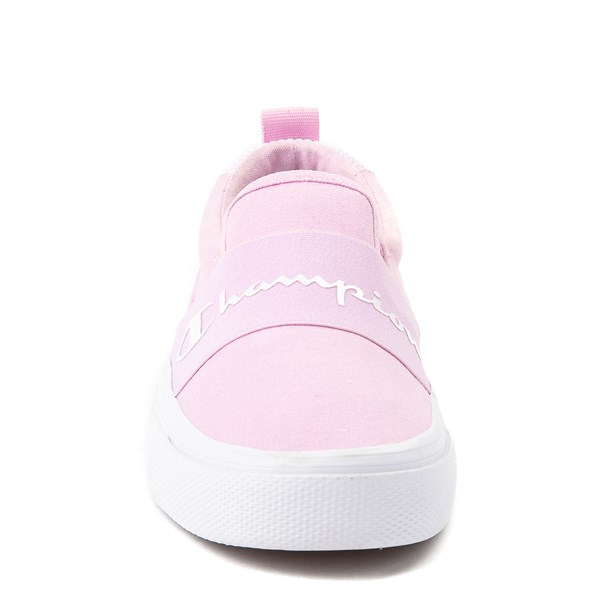 alternate view Womens Champion Rally Slip On Athletic Shoe - PinkALT4