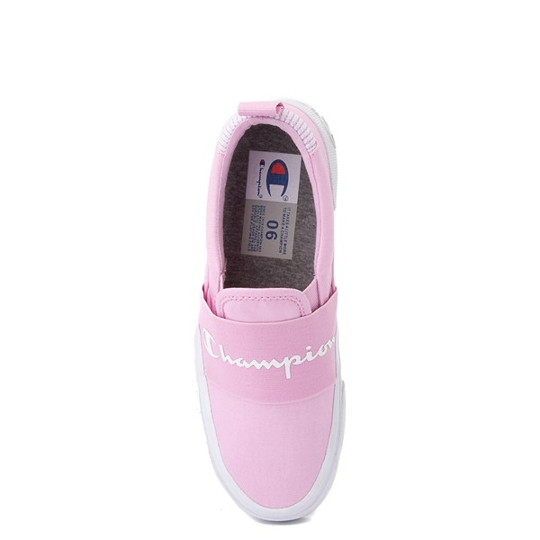 alternate view Womens Champion Rally Slip On Athletic Shoe - PinkALT6