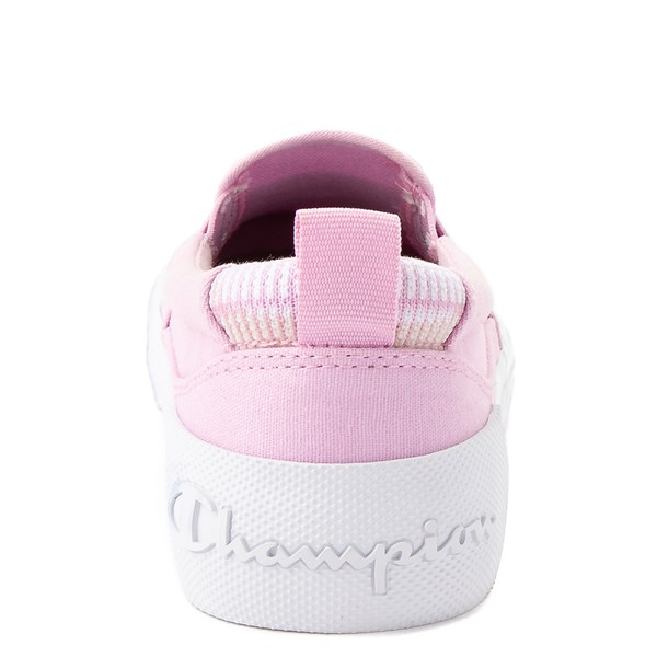 alternate view Womens Champion Rally Slip On Athletic Shoe - PinkALT7