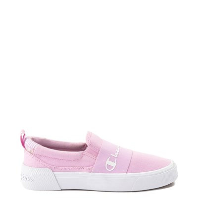 Main view of Womens Champion Rally Slip On Athletic Shoe - Pink