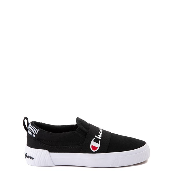 Champion Rally Slip On Athletic Shoe - Little Kid - Black