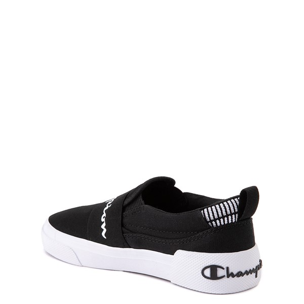 alternate view Champion Rally Slip On Athletic Shoe - Little Kid - BlackALT1