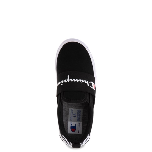 alternate view Champion Rally Slip On Athletic Shoe - Little Kid - BlackALT2