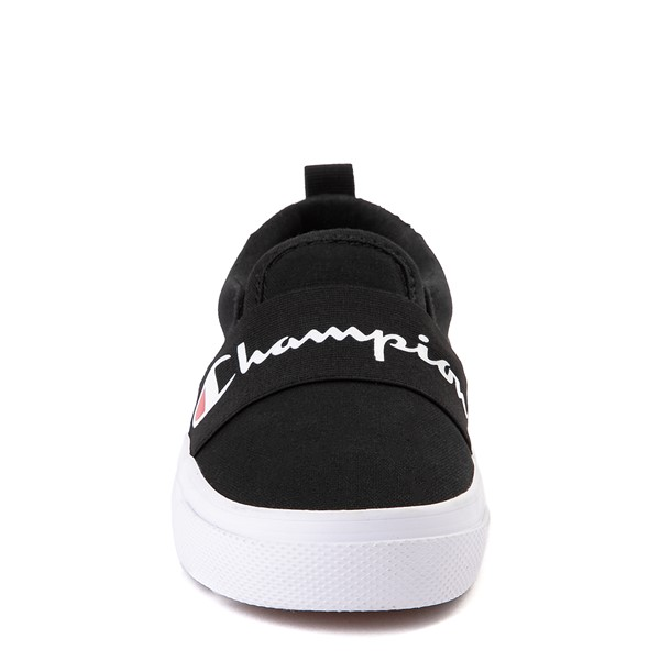 alternate view Champion Rally Slip On Athletic Shoe - Little Kid - BlackALT4
