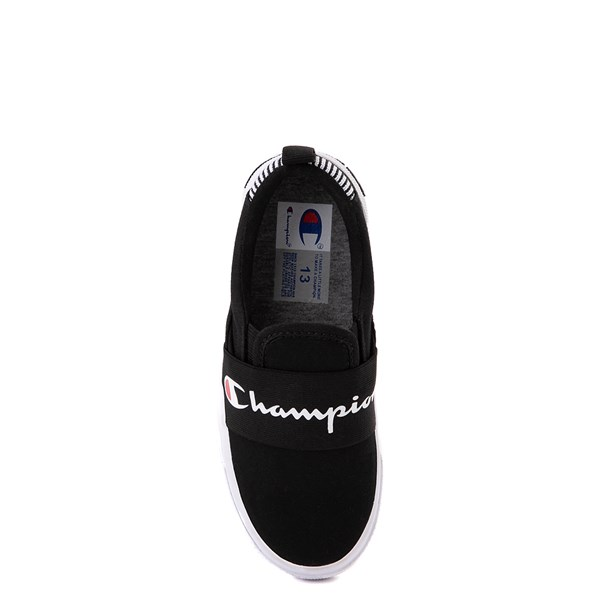 alternate view Champion Rally Slip On Athletic Shoe - Little Kid - BlackALT6