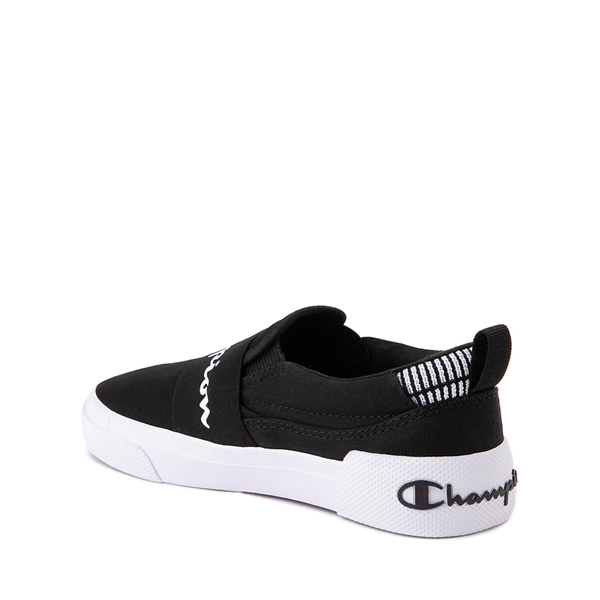 alternate view Champion Rally Slip On Athletic Shoe - Big Kid - BlackALT1