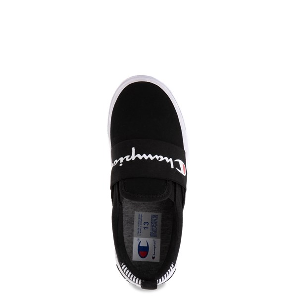 alternate view Champion Rally Slip On Athletic Shoe - Big Kid - BlackALT4B