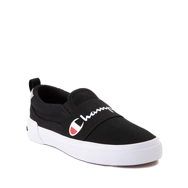 alternate view Champion Rally Slip On Athletic Shoe - Big Kid - BlackALT5