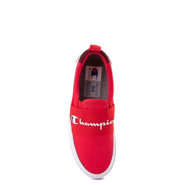 alternate view Champion Rally Slip On Athletic Shoe - Big Kid - RedALT2