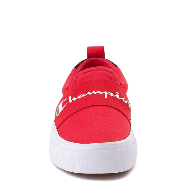 alternate view Champion Rally Slip On Athletic Shoe - Big Kid - RedALT4