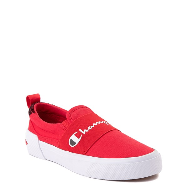 alternate view Champion Rally Slip On Athletic Shoe - Big Kid - RedALT5