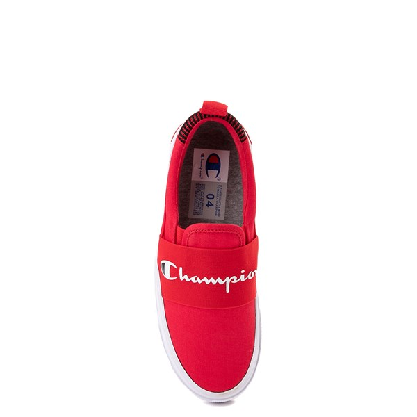 alternate view Champion Rally Slip On Athletic Shoe - Big Kid - RedALT6