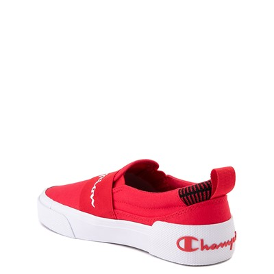 Alternate view of Champion Rally Slip On Athletic Shoe - Big Kid - Red