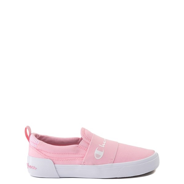 Main view of Champion Rally Slip On Athletic Shoe - Big Kid - Pink
