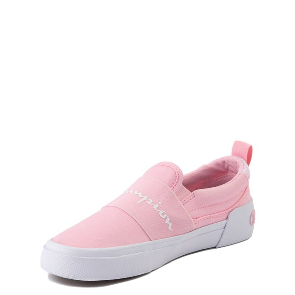 alternate view Champion Rally Slip On Athletic Shoe - Big Kid - PinkALT3