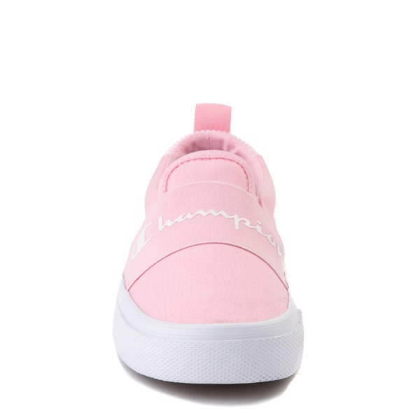alternate view Champion Rally Slip On Athletic Shoe - Big Kid - PinkALT4