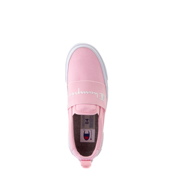 alternate view Champion Rally Slip On Athletic Shoe - Big Kid - PinkALT4B