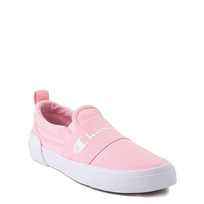 Alternate view of Champion Rally Slip On Athletic Shoe - Big Kid - Pink