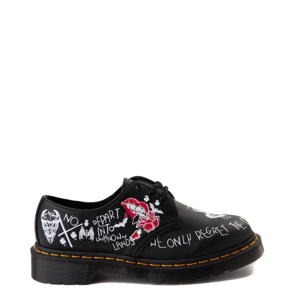 Dr. Martens 1461 Rebel Casual Shoe - Black