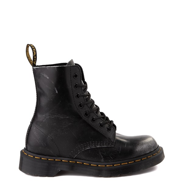 Dr. Martens 1460 8-Eye Italian Brush-Off Boot - Black