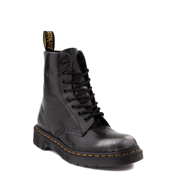 alternate view Dr. Martens 1460 8-Eye Italian Brush-Off Boot - BlackALT1