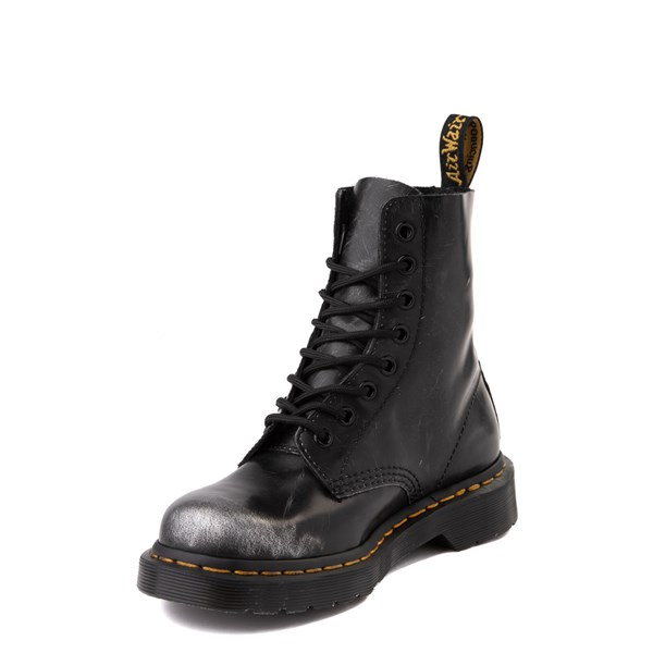 alternate view Dr. Martens 1460 8-Eye Italian Brush-Off Boot - BlackALT3