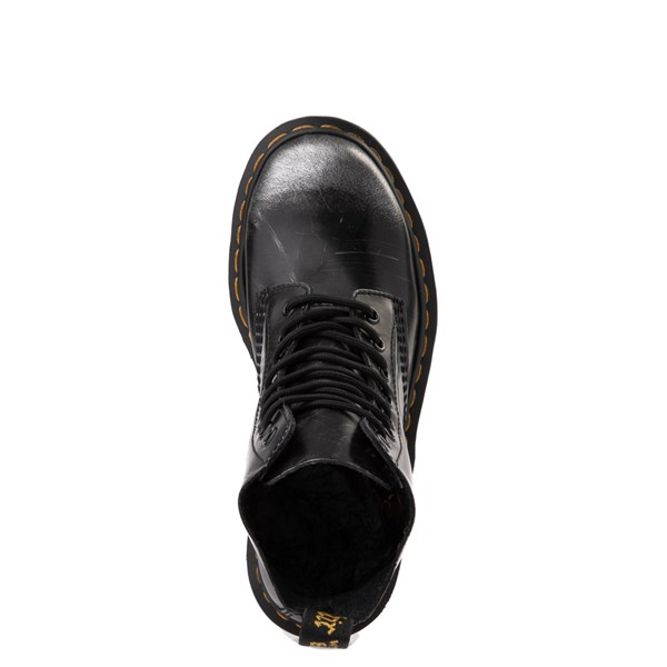 alternate view Dr. Martens 1460 8-Eye Italian Brush-Off Boot - BlackALT4B